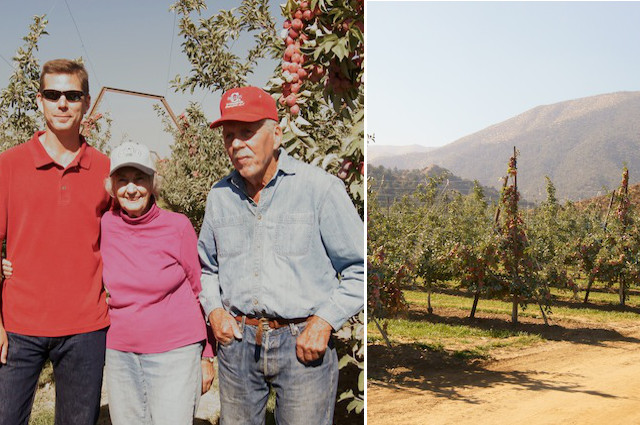 The owners of Cuyama Orchards