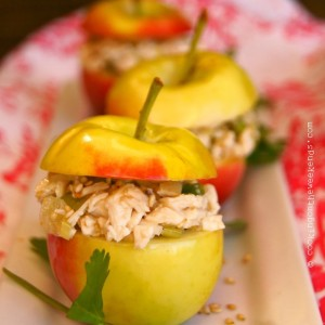 Crimson Gold Apple Sesame Chicken Salad Recipe