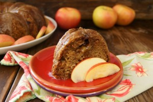 Fall Chai Spiced Apple Cake Recipe