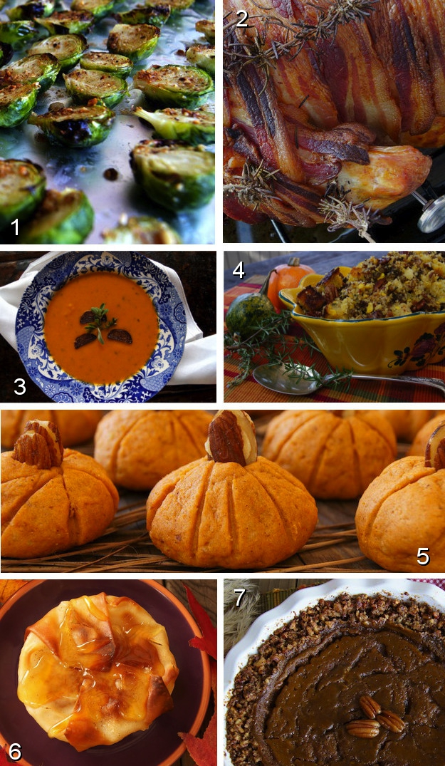 Thanksgiving Recipes: Sweet Potato Soup, Spiced Caramel Pumpkin Pie ...