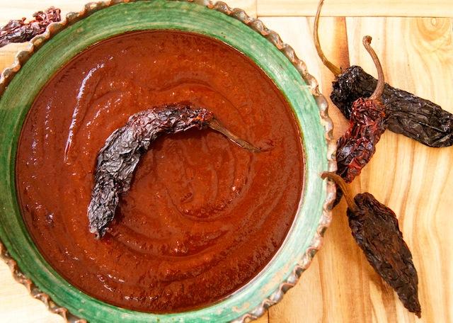 Ancho Chile Enchilada Sauce
