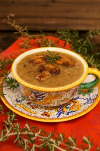 Rosemary Mushroom Soup | Cooking On The Weekends