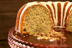 Eggnog Poppy Seed Bundt Cake | Cooking On The Weekends cookingontheweekends.com