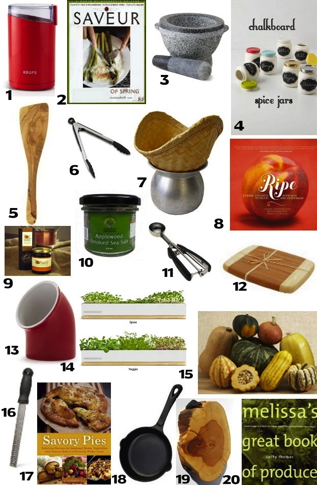 Post image for 20 Cool Gifts For Foodies For Under $20 – 2012