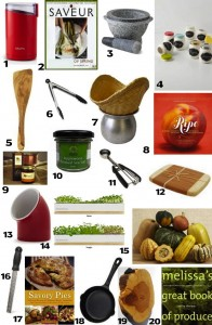 20 Gifts For Foodies For Under $20 cookingontheweekends.com
