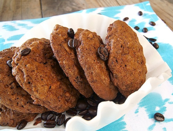 Crispy-Mocha-Cookies-Recipe