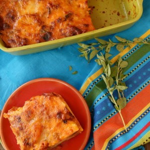 Chipotle-Potato Mexican Lasagna Recipe {Gluten-Free}