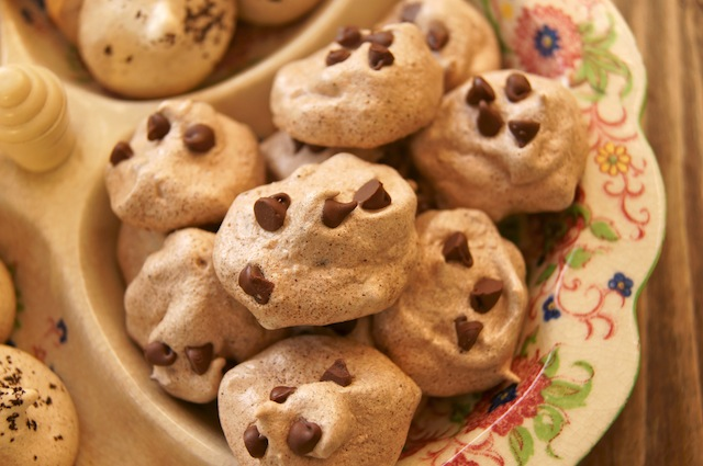 Double Chocolate Chip Meringues