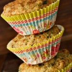 Sweet,Spiced Kale Currant Muffin Recipe