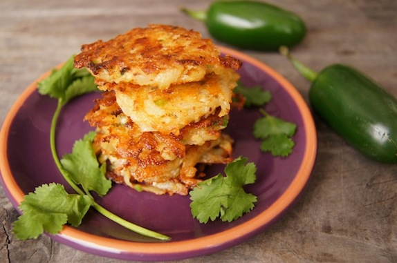 Pepper Jack Potato Pancakes Recipe