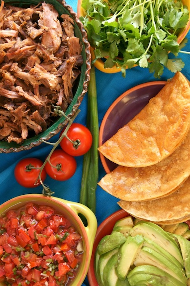Perfect Pulled Pork Tacos with Pickled Tomatoes
