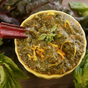 Red Swiss Chard Pesto Recipe