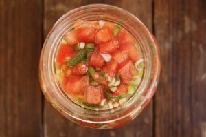 Pickled Tomatoes | Cooking On The Weekends