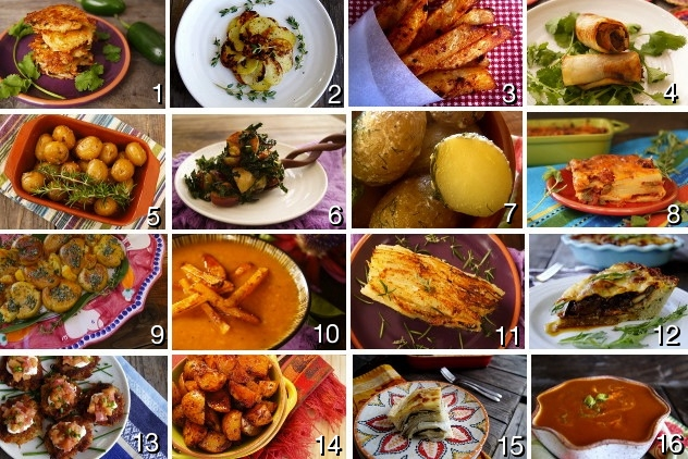 Post image for 16 Delicious Potato Recipes for Potato Lovers' Month
