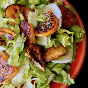 Fried Lemon Caesar Salad Recipe