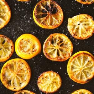 Fried Meyer Lemon Caesar Salad Recipe