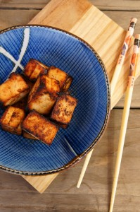 Miso Garlic and Ginger Tofu | Cooking On The Weekends