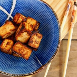 Miso Garlic-Ginger Tofu Recipe