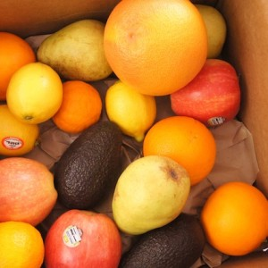 Organic Mixed Fruit Box from Melissa's Produce