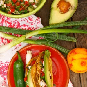 Cinco de Mayo Recipes: Blood Orange Halibut Ceviche Tacos