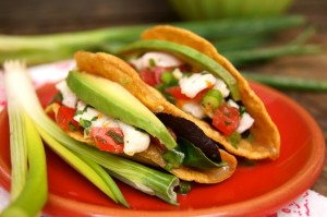 Cinco de Mayo Recipes: Blood Orange Halibut Ceviche Tacos