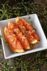 Honey-Ginger Broiled Grapefruit Recipe