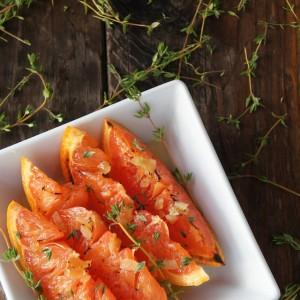 Honey Ginger Broiled Grapefruit Recipe
