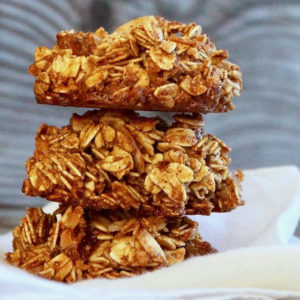 Spiced Granola Breakfast Cookies