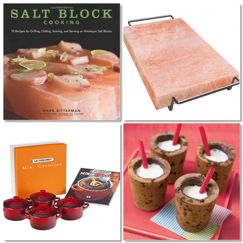 photo grid of 4 cooking gifts for Mother's Day