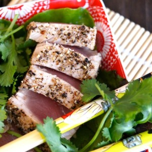 Pepper Seared Ahi Tuna with Kampot Pepper from the Pepper Project {GIVEAWAY CLOSED}