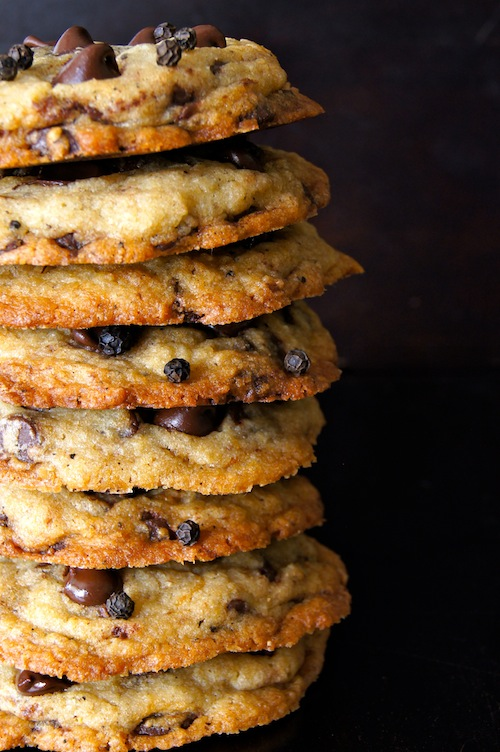 Black Kampot Pepper Chocolate Chip Cookie Recipe | Cooking On The ...