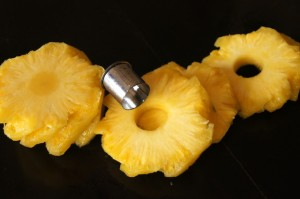 How to Peel and Cut a Pineapple:  A Photographic Guide | Cooking On The Weekends
