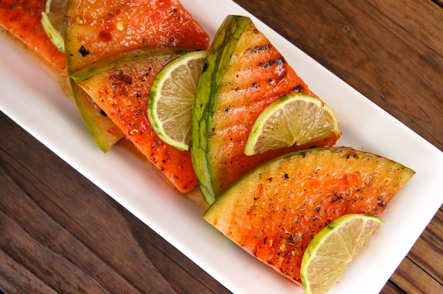 Chile-Lime Grilled Watermelon Recipe