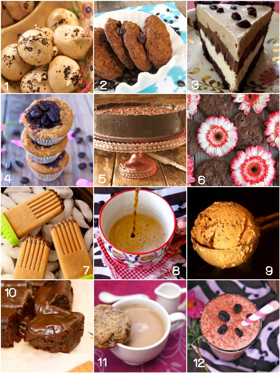 collage of the Best Coffee Lovers' Recipes