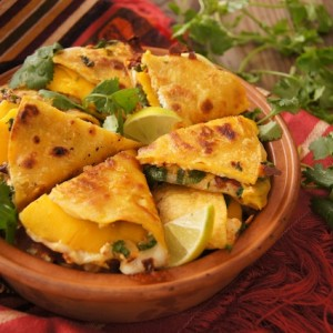 Smoky Chipotle Mango Quesadilla Recipe