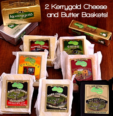 Kerrygold Cheese and Butter Baskets