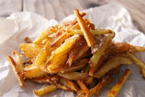 Roasted Matchstick Parmesan French Fries  | Cooking On The Weekends
