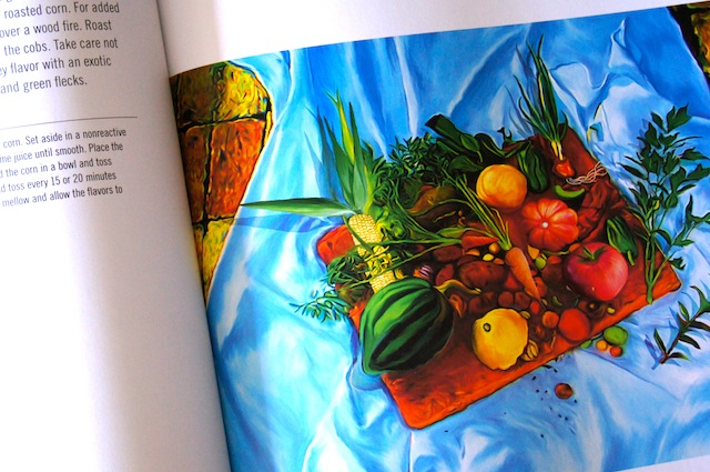 Page from the cookbook An Artist's Kitchen