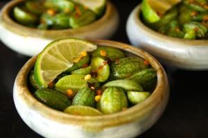 Ponzu-Marinated Watermelon Cucumber Recipe