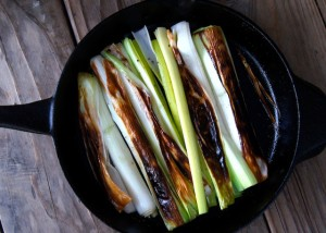 Lemon-Sherry Braised Leeks Recipe | Cooking On The Weekends