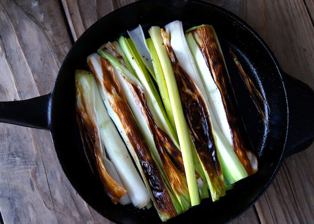 Lemon-Sherry Braised Belgian-Style Leeks