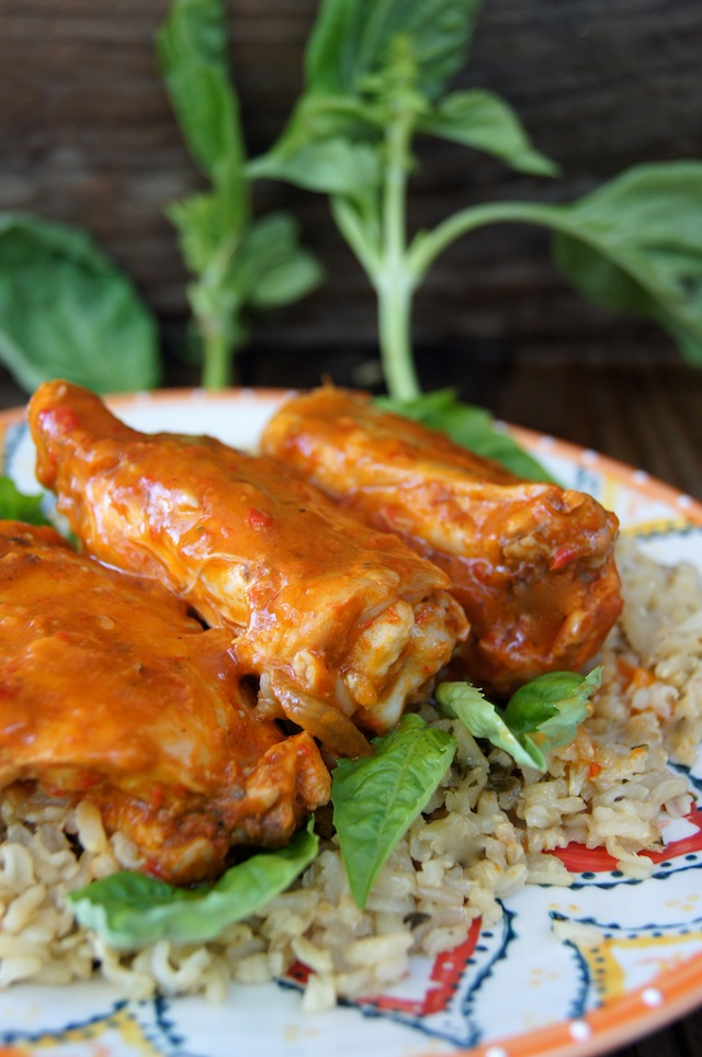 Sweet Pepper Baked Chicken