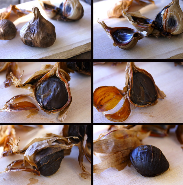 Black Garlic Pappardelle Pasta