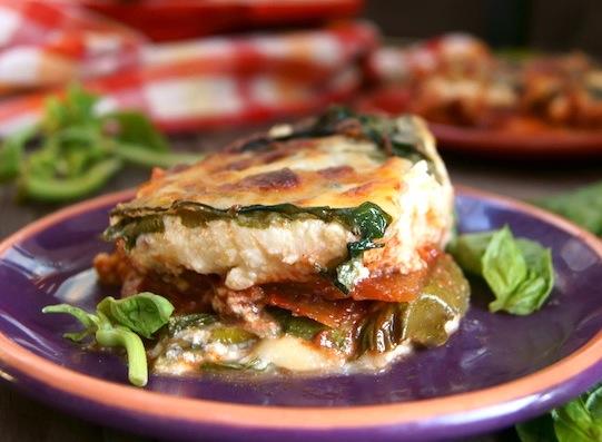 Swiss Chard Vegetarian Lasagna