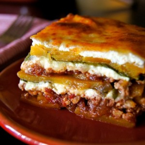 "Spiced Chicken-Butternut Squash ""Lasagna"" Recipe {Gluten-Free}"