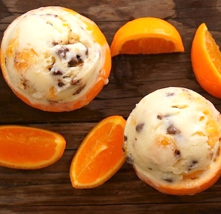 Pixie Tangerine-Mascarpone Ice Cream