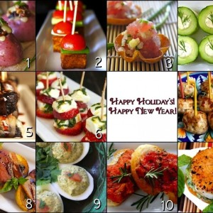 Holiday Hors D'Oeuvre Party Recipes