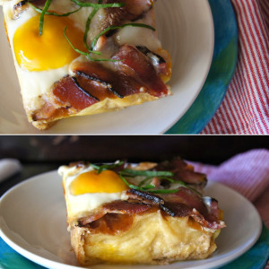 Buttermilk Baked French Toast Recipe, + a Side of Bacon & Eggs