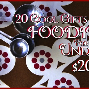 20 Cool Gifts For Foodies For Under $20 – 2013