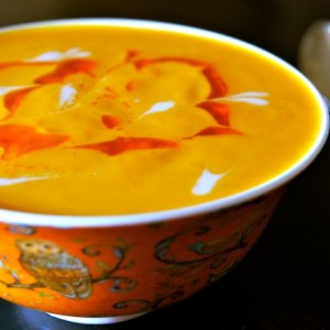 Vegan Coconut Spiced Carrot Soup Recipe